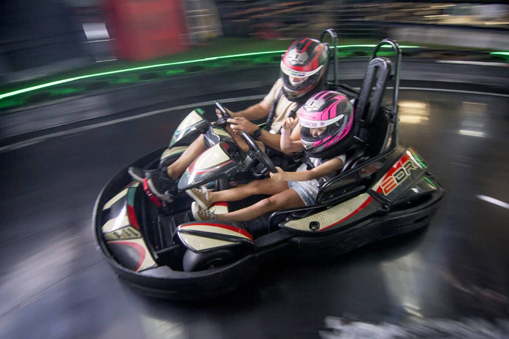extended Qld school holiday hours for our go kart centre