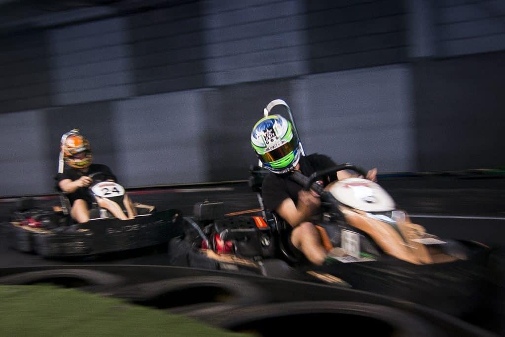 Tuesday night race nights at Go Karting Gold Coast